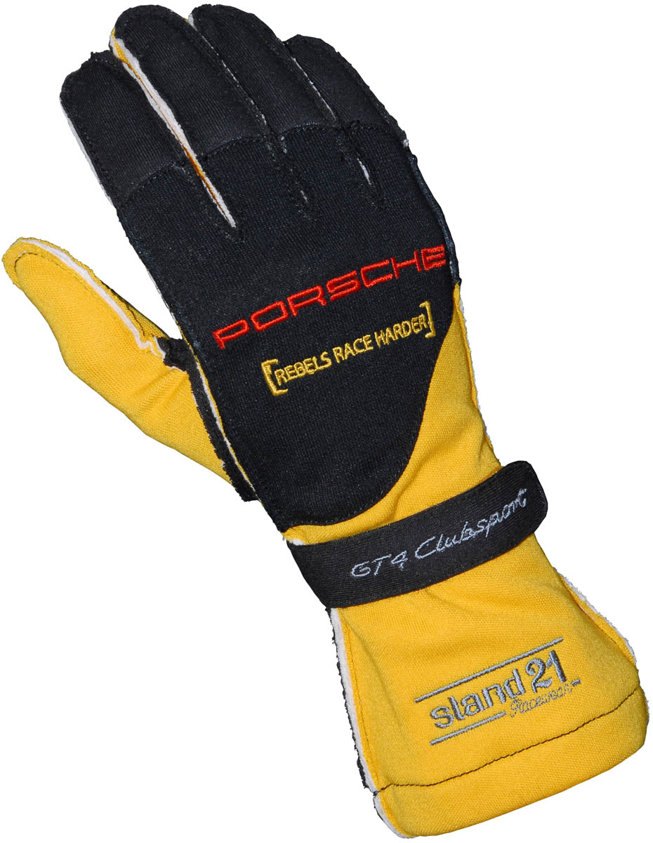 Colored GT4 Clubsport Outside Seams II gloves